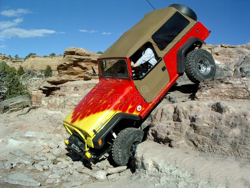 Pasen Jeep Safari, Moab Utah royalty-vrije stock foto's