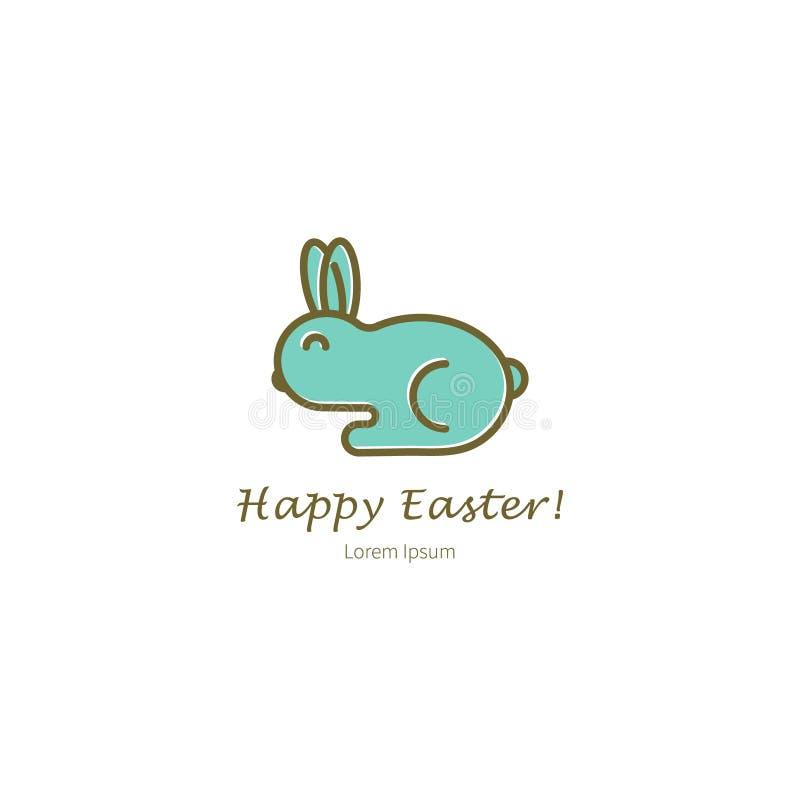 Pasen-konijn vectorillustratie vector illustratie