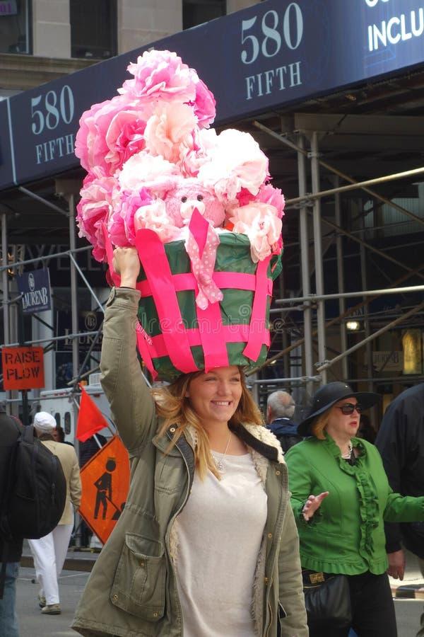 Pasen-Parade en Pasen-Bonnetfestival royalty-vrije stock afbeeldingen