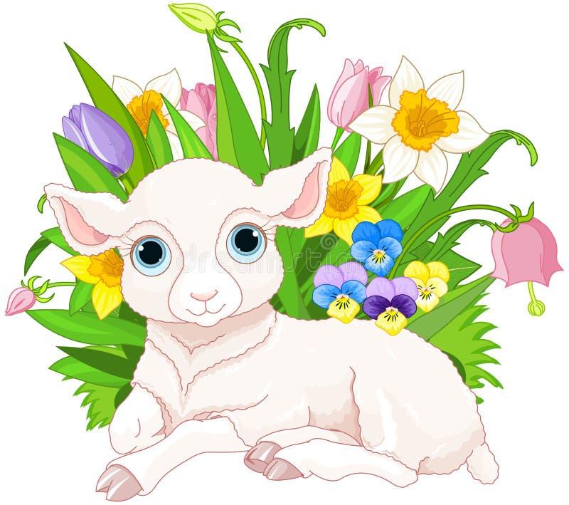 Pasen-schapen royalty-vrije illustratie