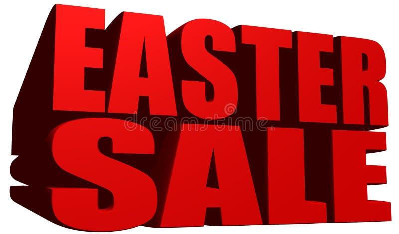 Pasen-verkoop royalty-vrije illustratie