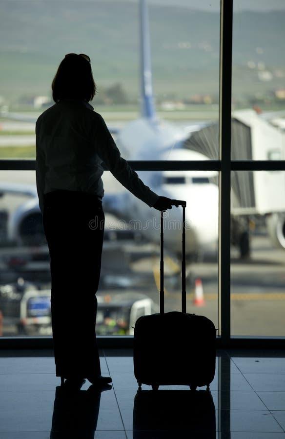 Pasenger del aeropuerto foto de archivo
