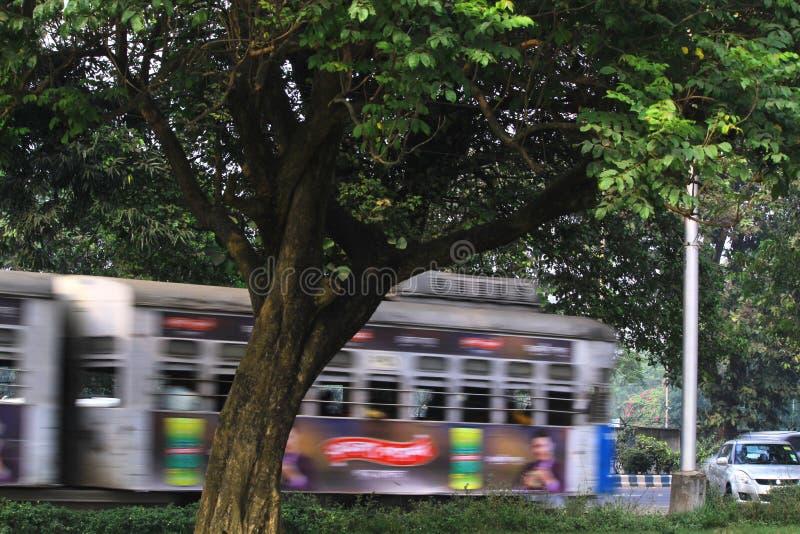 Paseo de la tranvía fotos de archivo