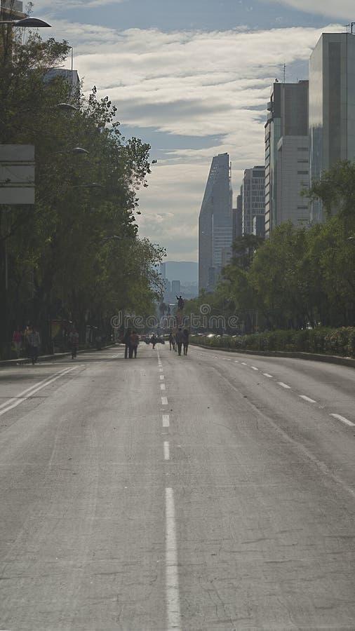 Paseo De Los angeles Reforma obraz stock