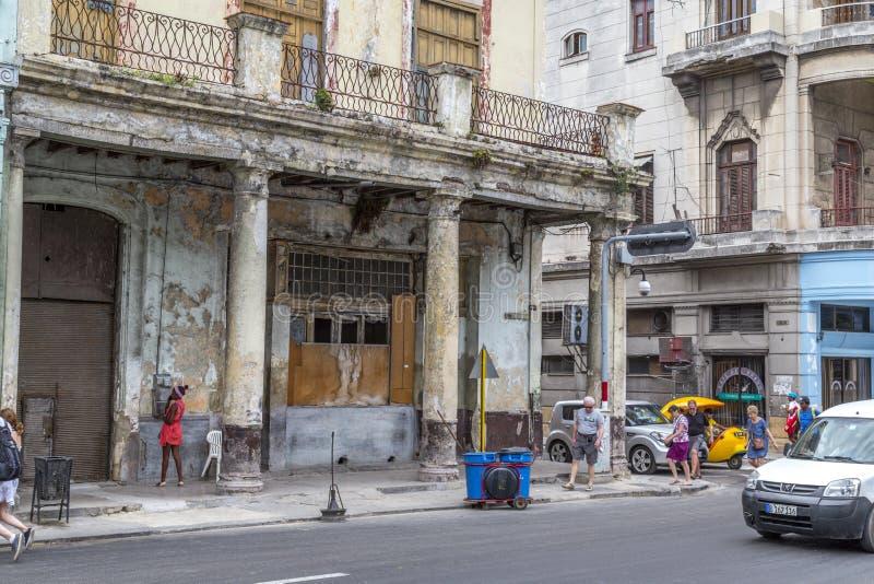 Paseo De Marti Hawański, Kuba -4 (Prada) fotografia royalty free