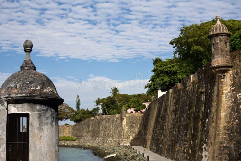 Paseo del morro à vieux San Juan photos stock