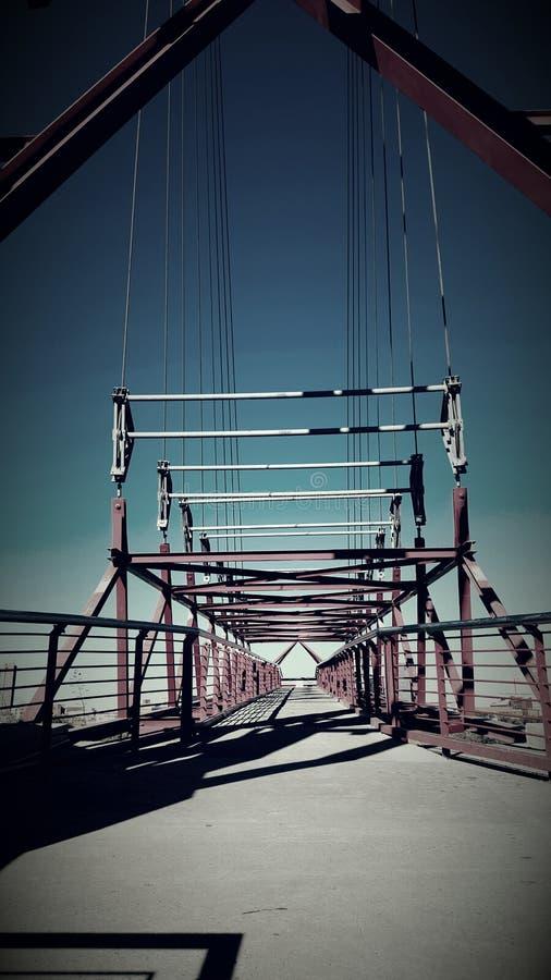 Paseo del puente foto de archivo libre de regalías