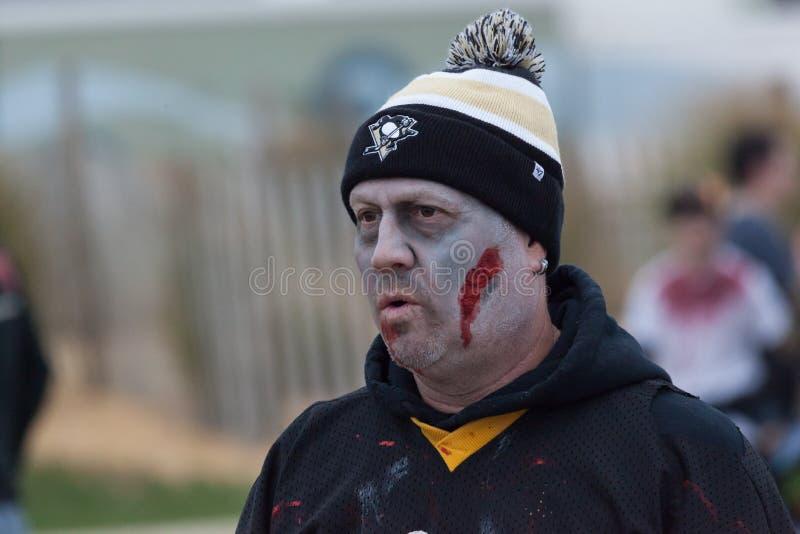 Paseo 2016 del zombi de New Jersey foto de archivo