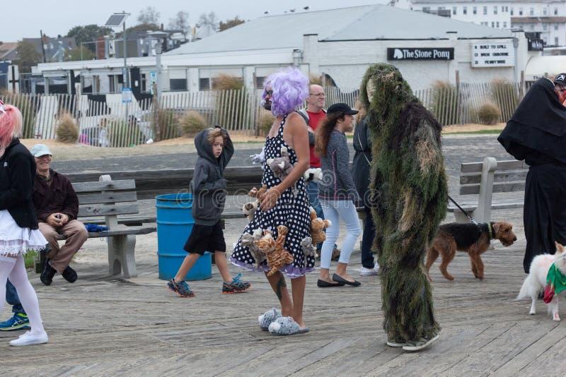 Paseo 2016 del zombi de New Jersey foto de archivo libre de regalías