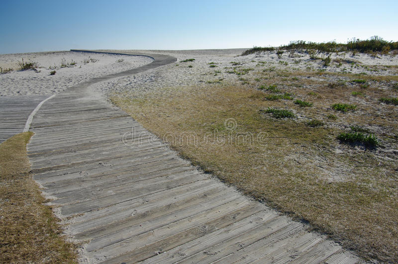 Paseo marítimo de la playa imágenes de archivo libres de regalías