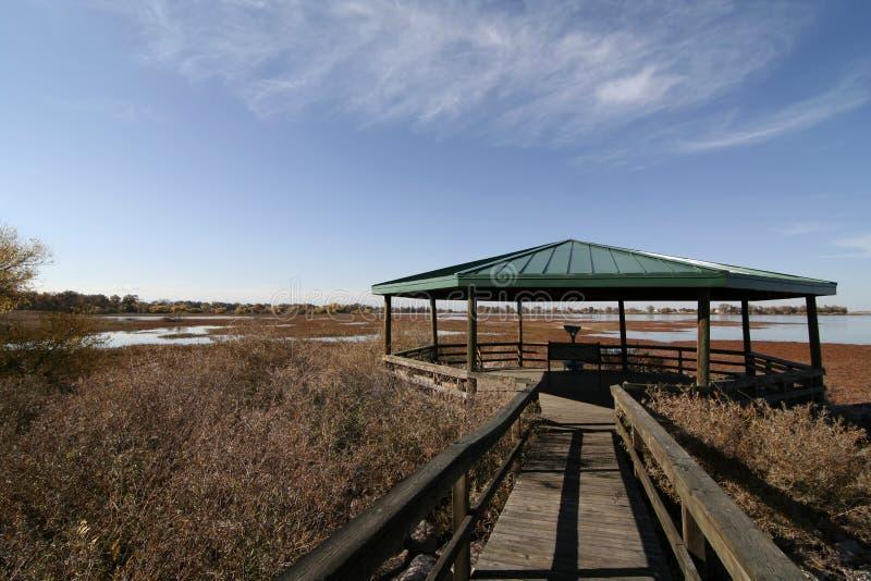 Paseo marítimo en el parque de estado del lago Barr fotos de archivo libres de regalías