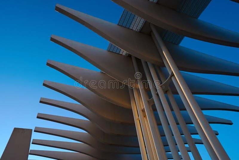 Paseo nuevo del Perto - Malaga royaltyfri fotografi