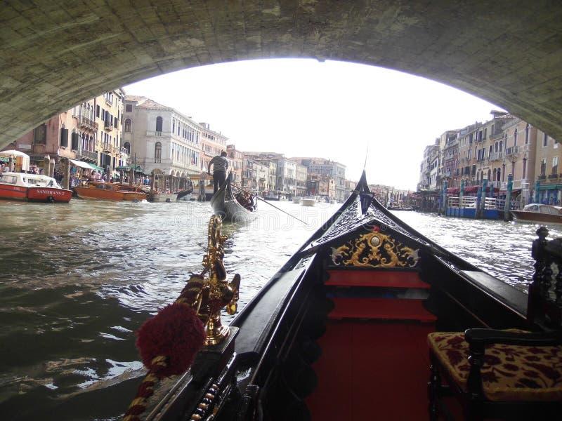 Paseo veneciano foto de archivo libre de regalías