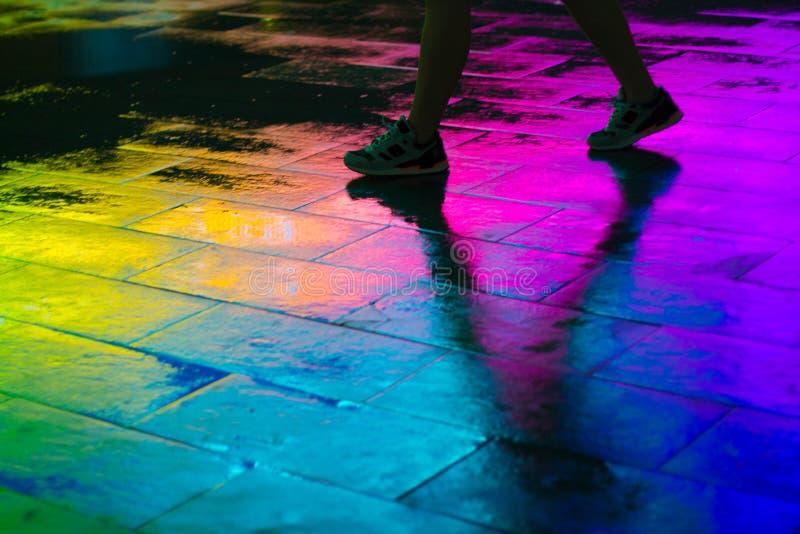 Paseo VI del arco iris fotografía de archivo libre de regalías