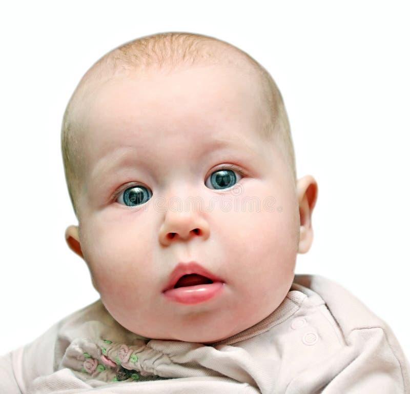 Pasgeboren baby dichte omhooggaand stock fotografie