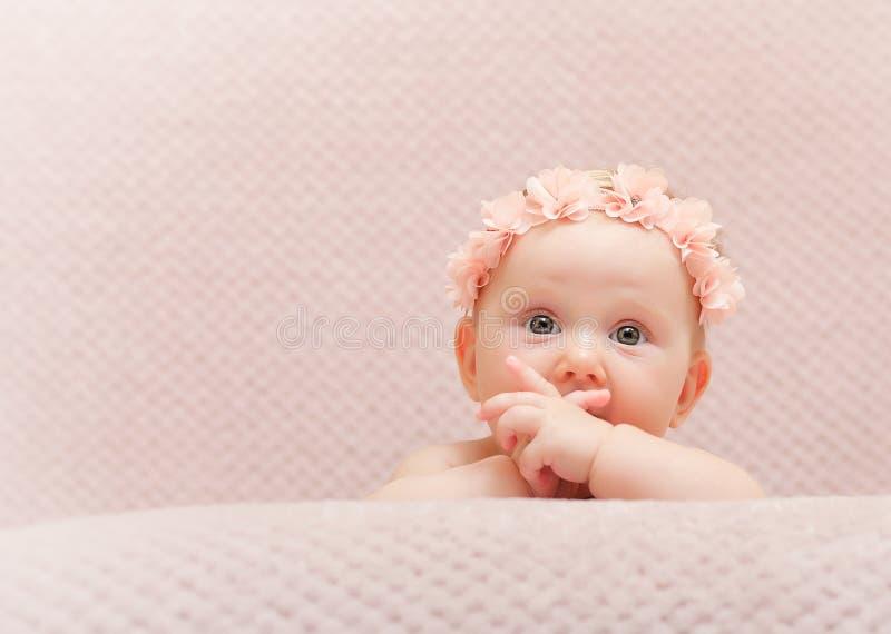 Pasgeboren fijn portret royalty-vrije stock fotografie