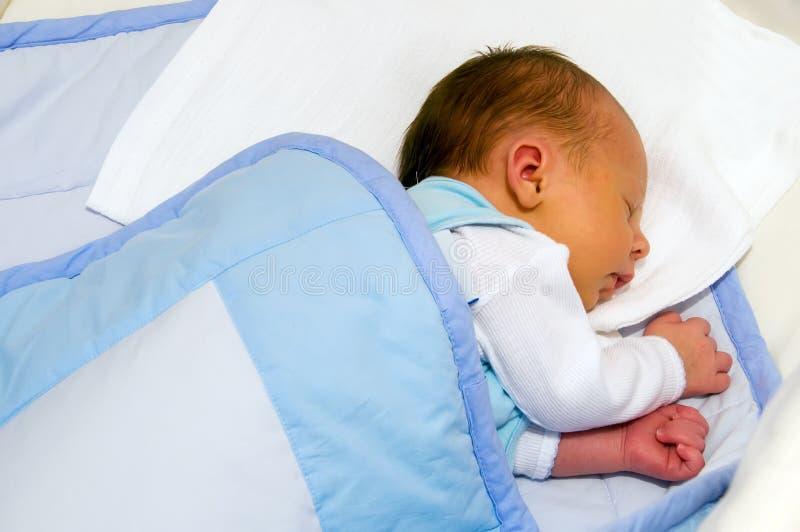 Pasgeboren slaap stock foto