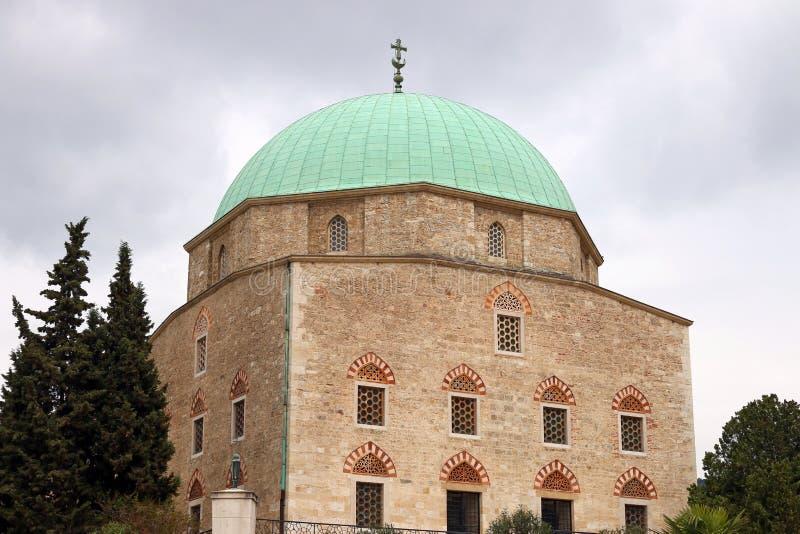 Pasha Qasim Mosque Pecs. Hungary royalty free stock photo
