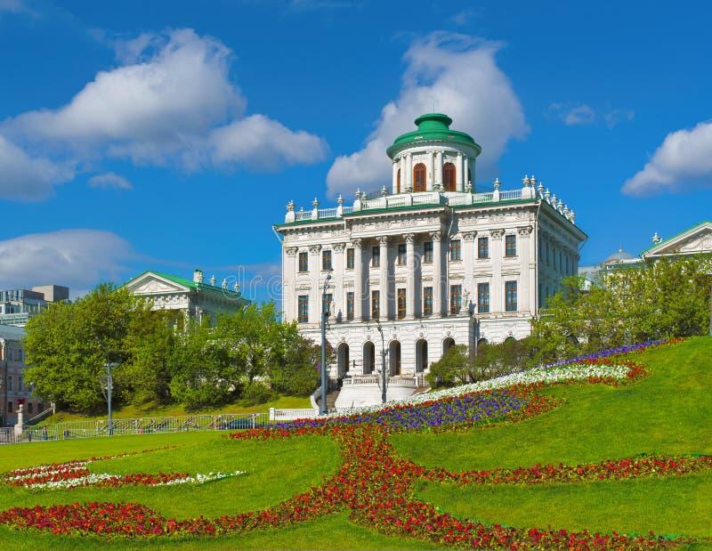 Pashkov议院,莫斯科,俄罗斯 库存图片