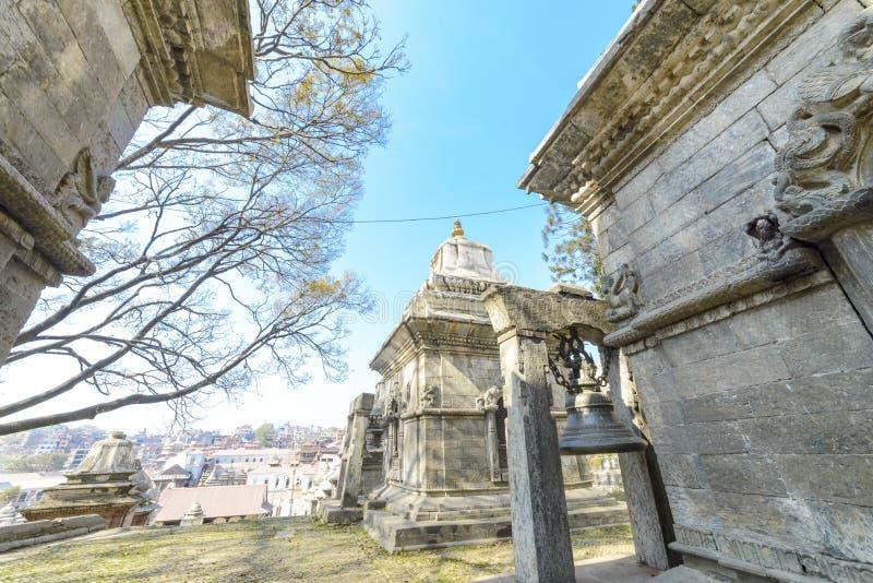 Pashupatinath寺庙,尼泊尔,加德满都 2017年 图库摄影