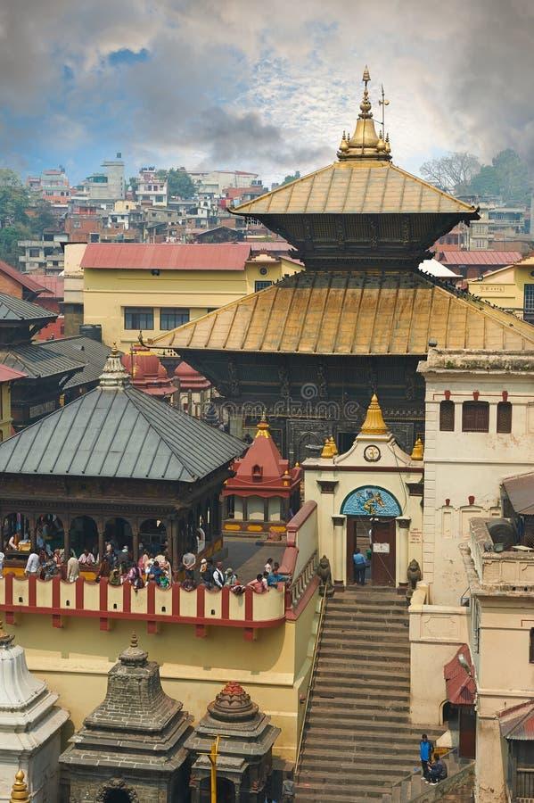 Pashupatinath 库存图片