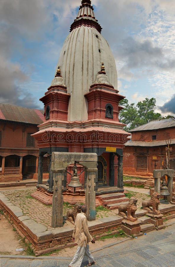 Pashupatinath 库存照片