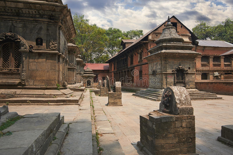 Pashupatinath 免版税图库摄影