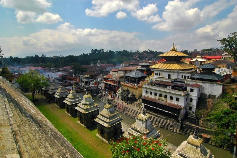 Pashupatinath royalty free stock photo