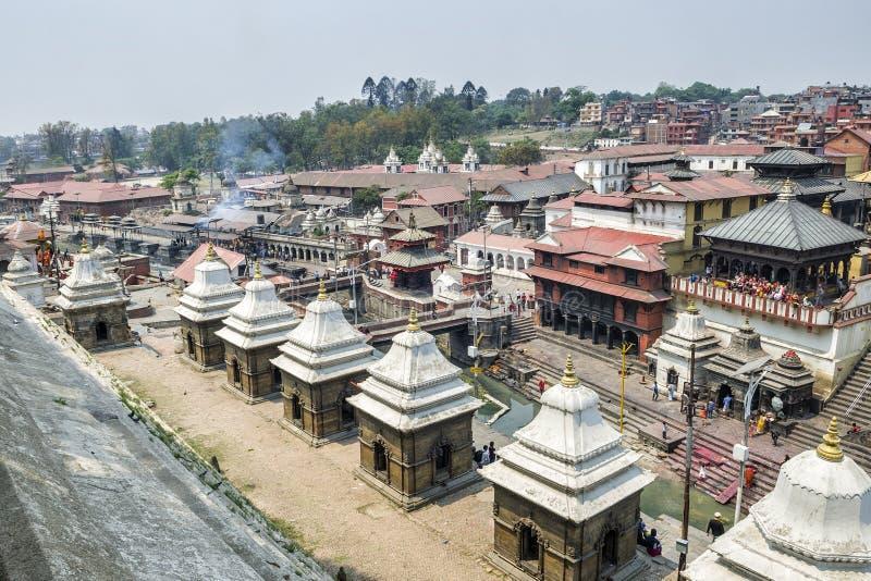 Pashupatinath, Kathmandu, Nepal royalty free stock image