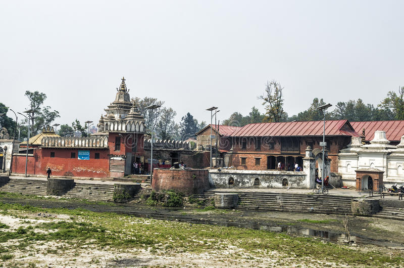 Pashupatinath, Kathmandu, Nepal royalty free stock photos
