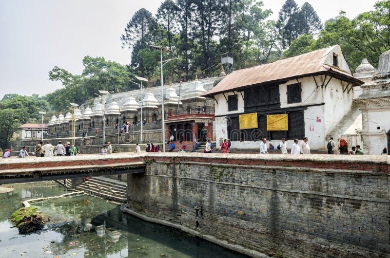 Pashupatinath, Kathmandu, Nepal stock image