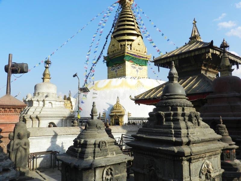 Pashupatinath-Tempel, eingeweiht Lord Shiva, Katmandu, Nepal stockfotografie