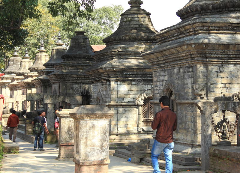 Pashupatinath Temple. stock images
