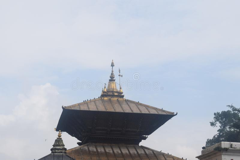 pashupatinath temple kathmandu nepal royalty free stock photo