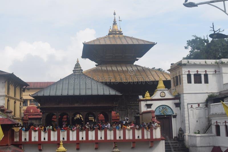 pashupatinath temple kathmandu nepal royalty free stock image