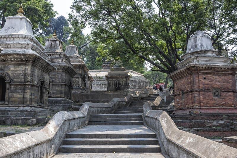 Pashupatinath Temple, Kathmandu, Nepal royalty free stock photos
