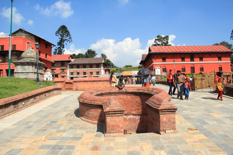 Pashupatinath Temple(Nepal). royalty free stock photography