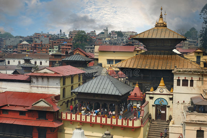 Pashupatinath royalty free stock photography