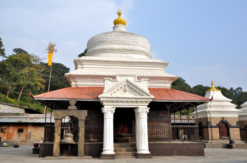 Pashupatinath Temple. Served as the seat of the national deity, Lord Pashupatinath in Nepal royalty free stock image