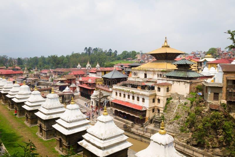 Pashupatinath Temple stock image