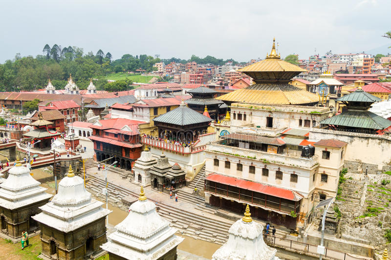 Pashupatinath Temple royalty free stock image