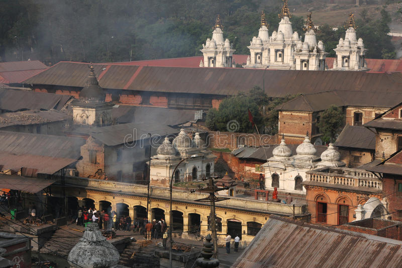 Pashupatinath temples. Pashupatinath is one of the most significant Hindu temples of Lord Shiva in the world, on the banks of the Bagmati River in Kathmandu stock images
