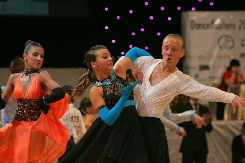 Pasión de la danza foto de archivo