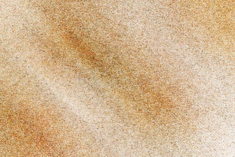 Pasiasta stara jasnobrązowa betonowa powierzchnia, szczegółu kamień, abstrakcjonistyczny tło obrazy royalty free
