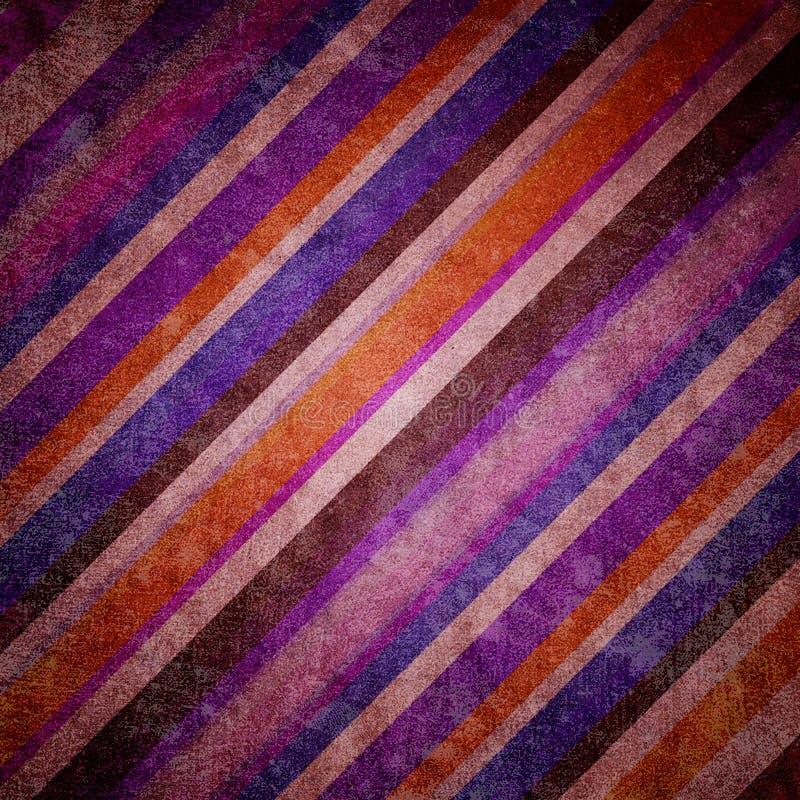 Pasiasty abstrakcjonistyczny tło stylu rocznika wzór royalty ilustracja
