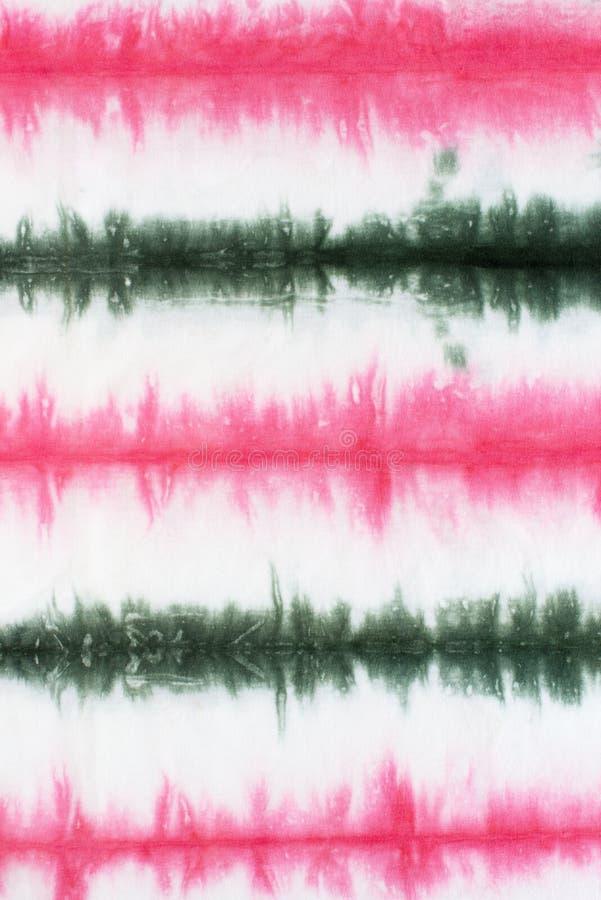 Pasiasty krawata barwidła wzoru abstrakta tło zdjęcia stock