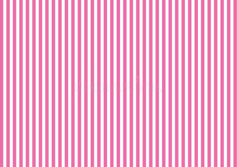 Pasiasty wzór z pionowo linią w menchiach zdjęcie royalty free