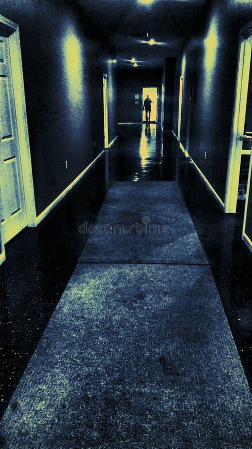 pasillo foto de archivo