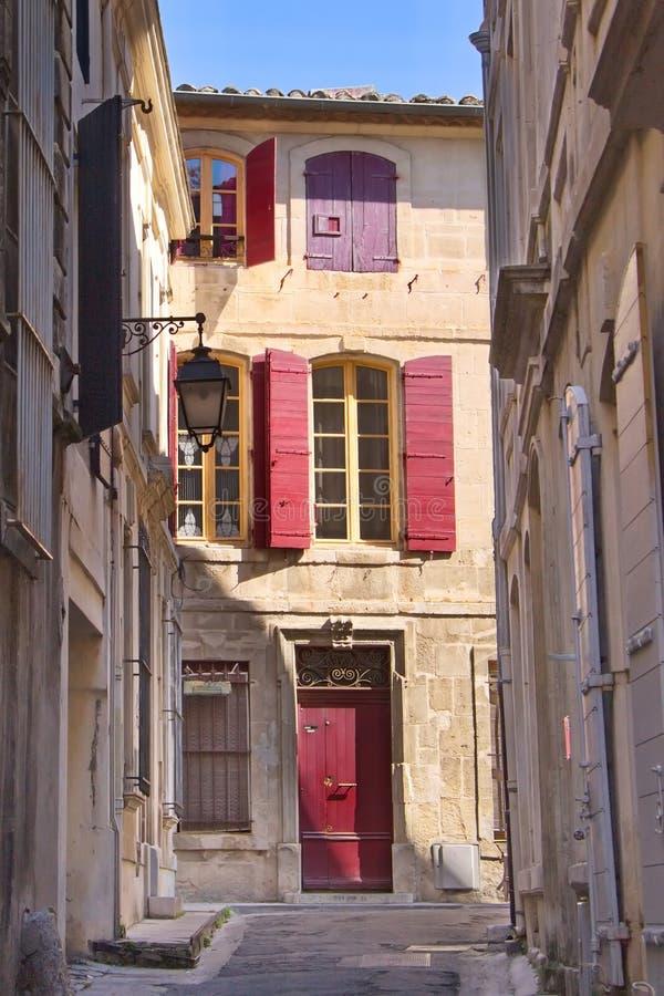 Pasillo, Arles foto de archivo libre de regalías