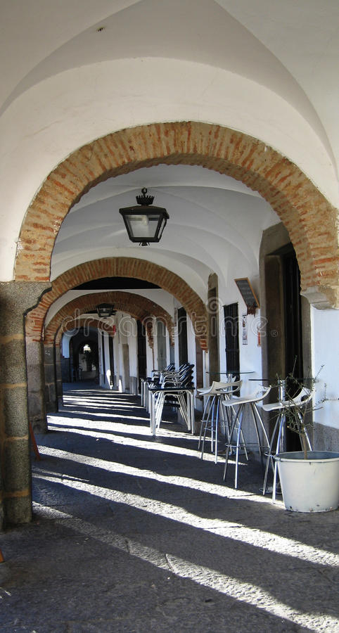 Pasillo de Archs foto de archivo